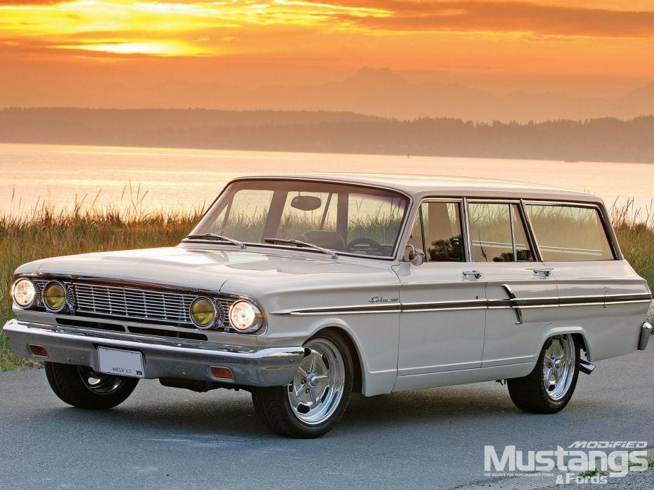 1964 Ford Ranch Wagon Street Rod Hot Custom USA 1600x1200-03 wallpaper