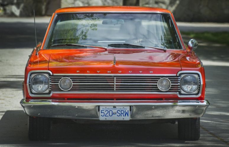 1966 Plymouth Stellite Coupe Muscle Hardtop Street Rod Rodder Red USA 2480x1600-01 wallpaper