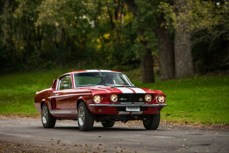 1967 Shelby GT500 with LeMans stripes option classic cars wallpaper
