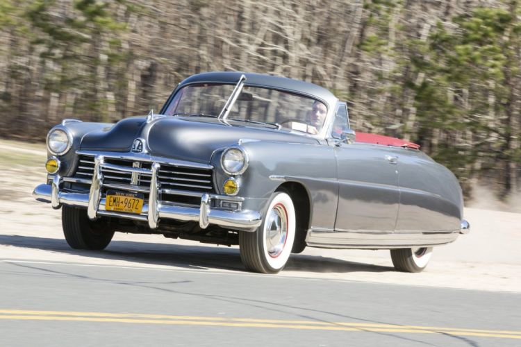 1949 Hudson Commodore Custom Eight Convertible Brougham classic cars wallpaper