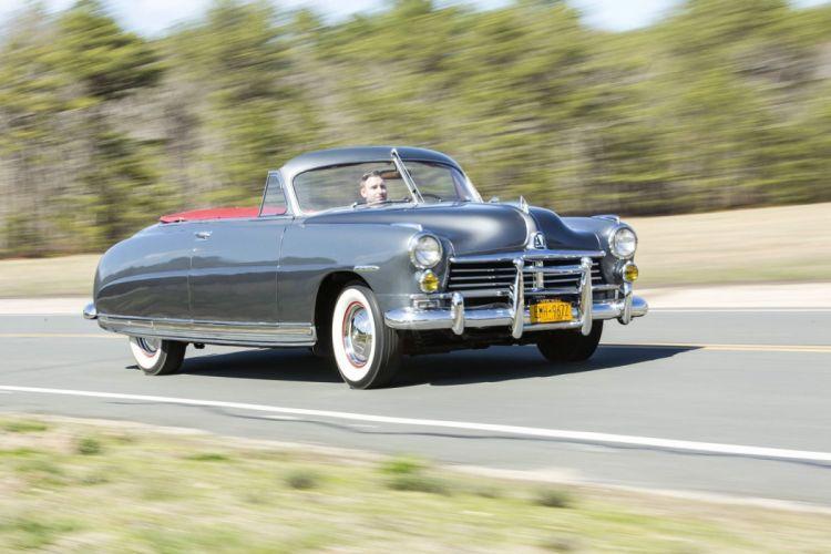 1949 Hudson Commodore Custom Eight Convertible Brougham classic cars wallpaper