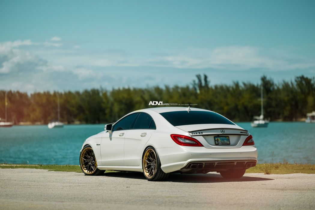 ADV 1 WHEELS GALLERY MERCEDES CLS63 AMG cars tuning wallpaper