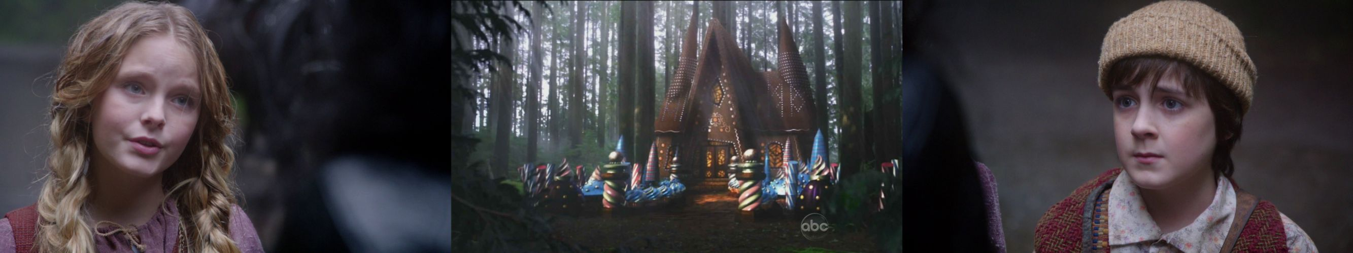wallpaper tiple three multi multiple monitor screen tv television serie once upon a time il etait une fois hansel gretel wallpaper
