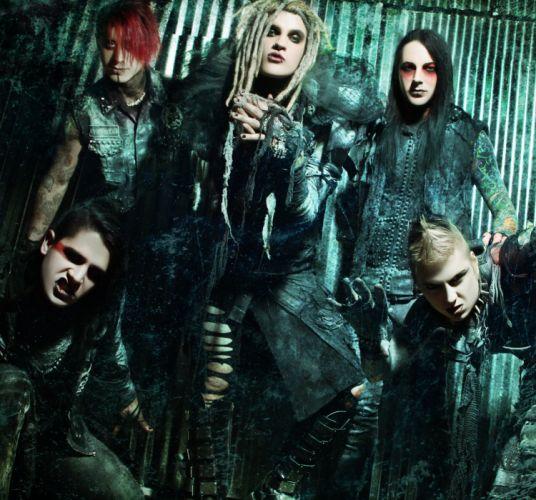DAVEY SUICIDE murderdolls wednesday horror puck heavy metal glam 1davey hard rock wallpaper