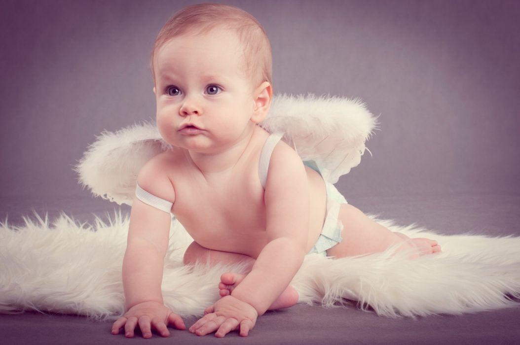 angel-background-children baby wallpaper