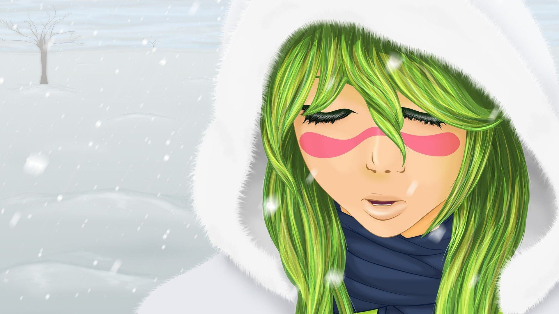 Anime Characters With Green Hair : Anime series bleach girl green hair character wallpaper
