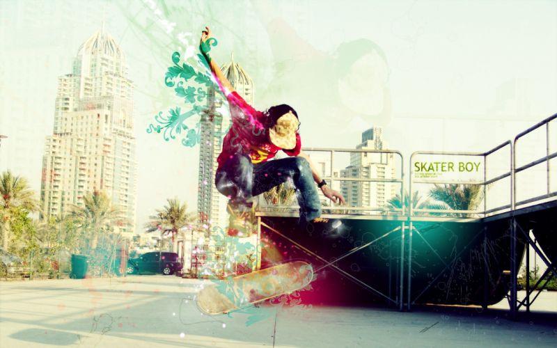color motion city people wallpaper