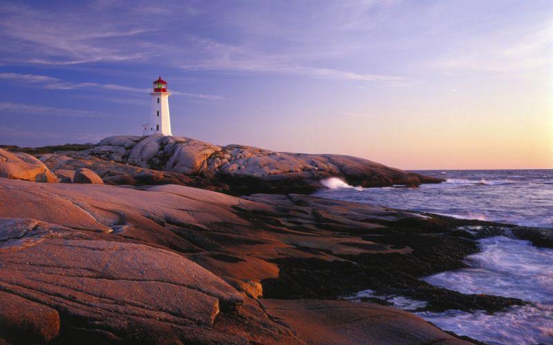 sea Lighthouse beauty wallpaper