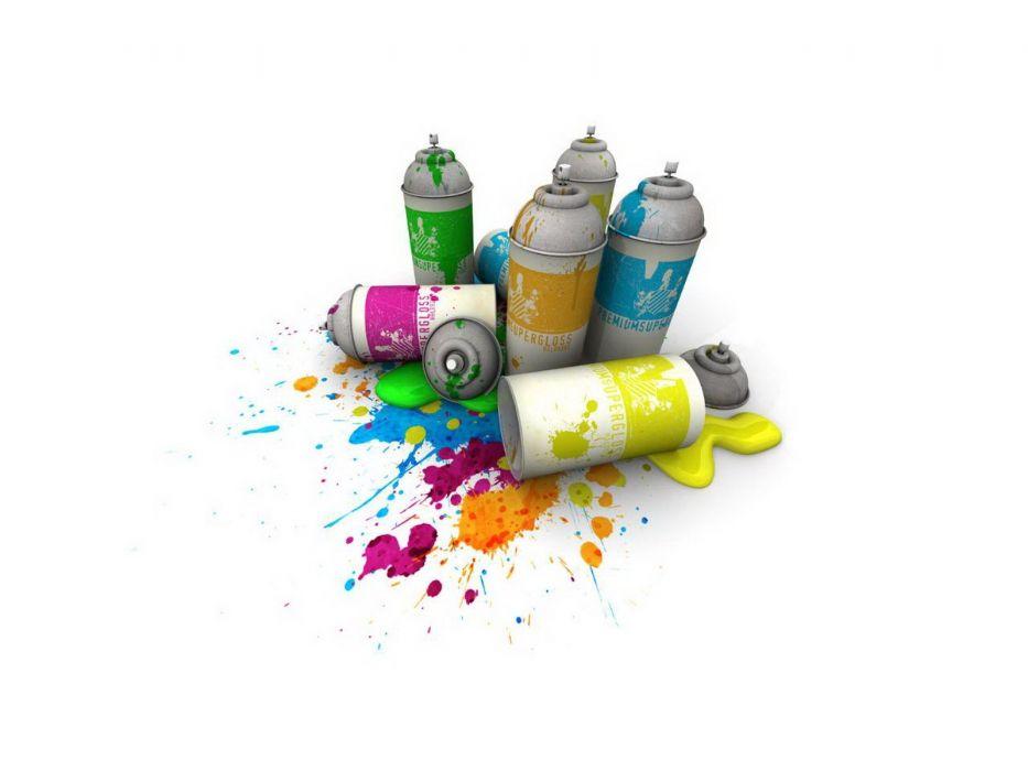 spray colores wallpaper