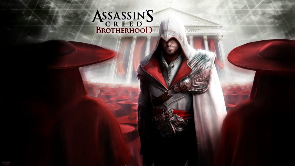 ASSASSINS CREED Brotherhood action adventure fantasy fighting warrior stealth wallpaper
