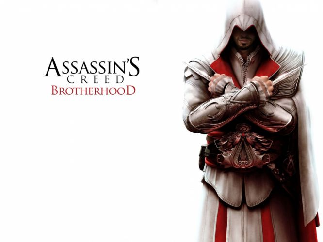 ASSASSINS CREED Brotherhood action adventure fantasy fighting warrior stealth wallpaper