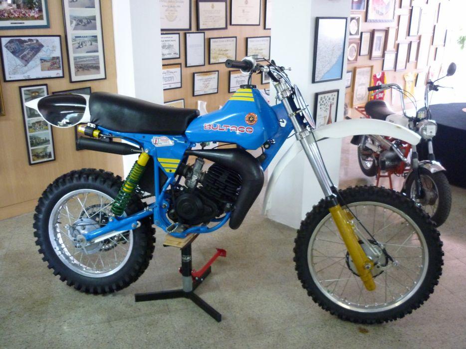 bultaco pursang 125 motos wallpaper