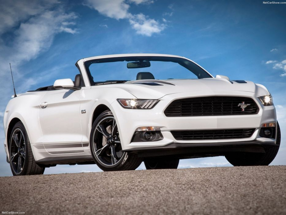 Ford Mustang gt 2016 convertible cars wallpaper