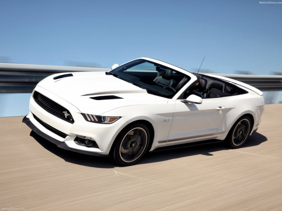 Ford Mustang gt 2016 convertible cars wallpaper