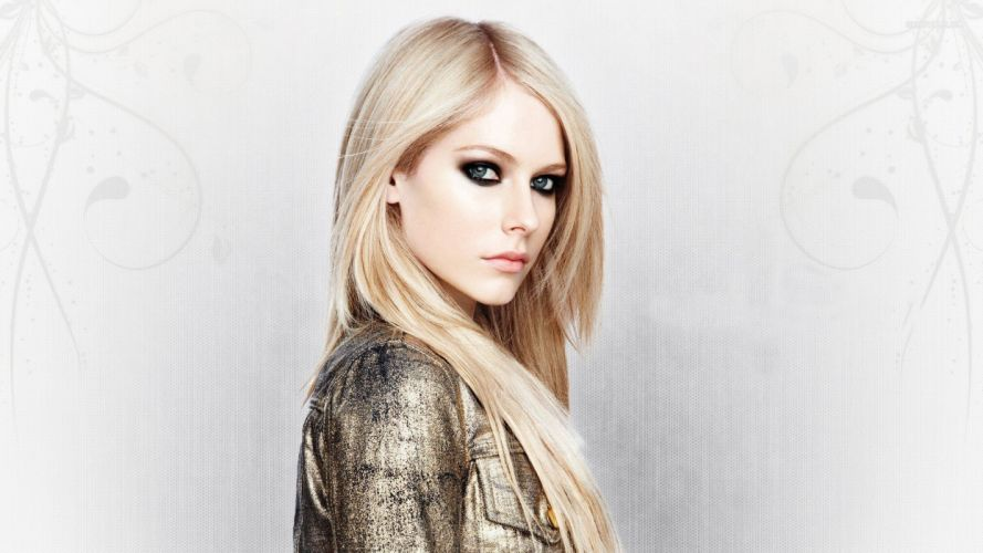 avril lavigne modelo rubia wallpaper