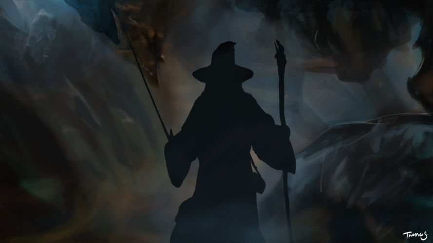 gandalf-the-hobbit-the-lord- wallpaper