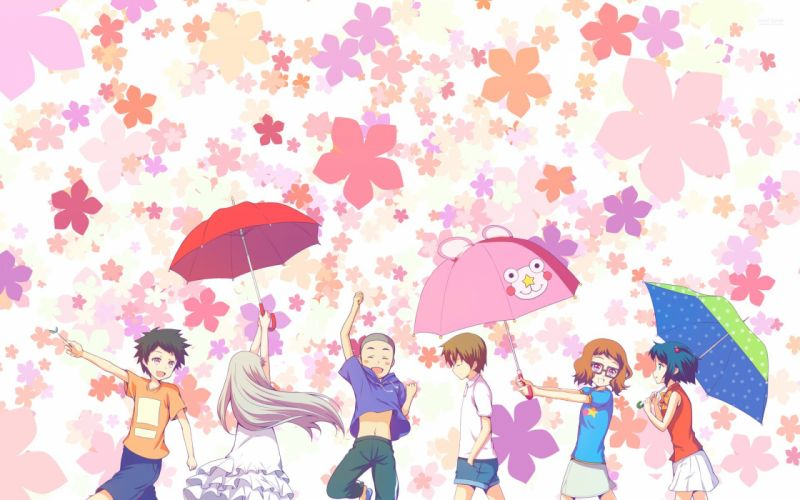 anohana-the-flower-we-saw-that-day-anime series wallpaper