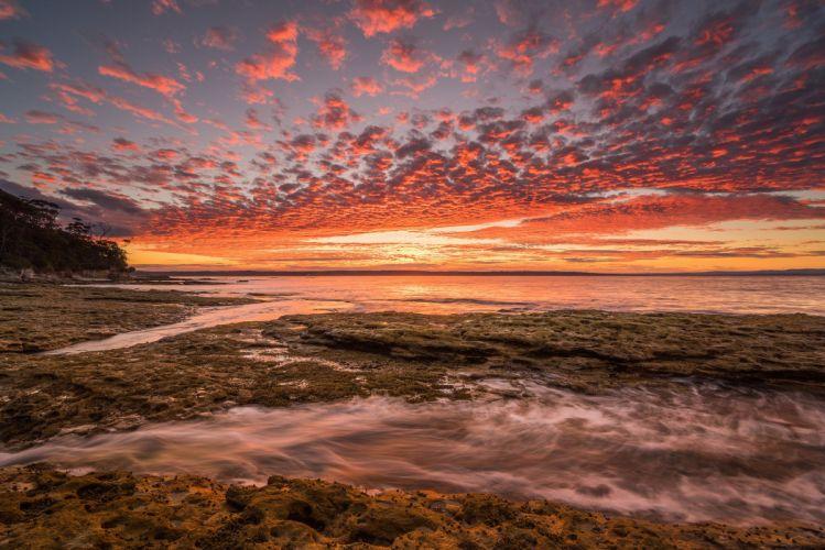 nature original sunset sky beauty wallpaper