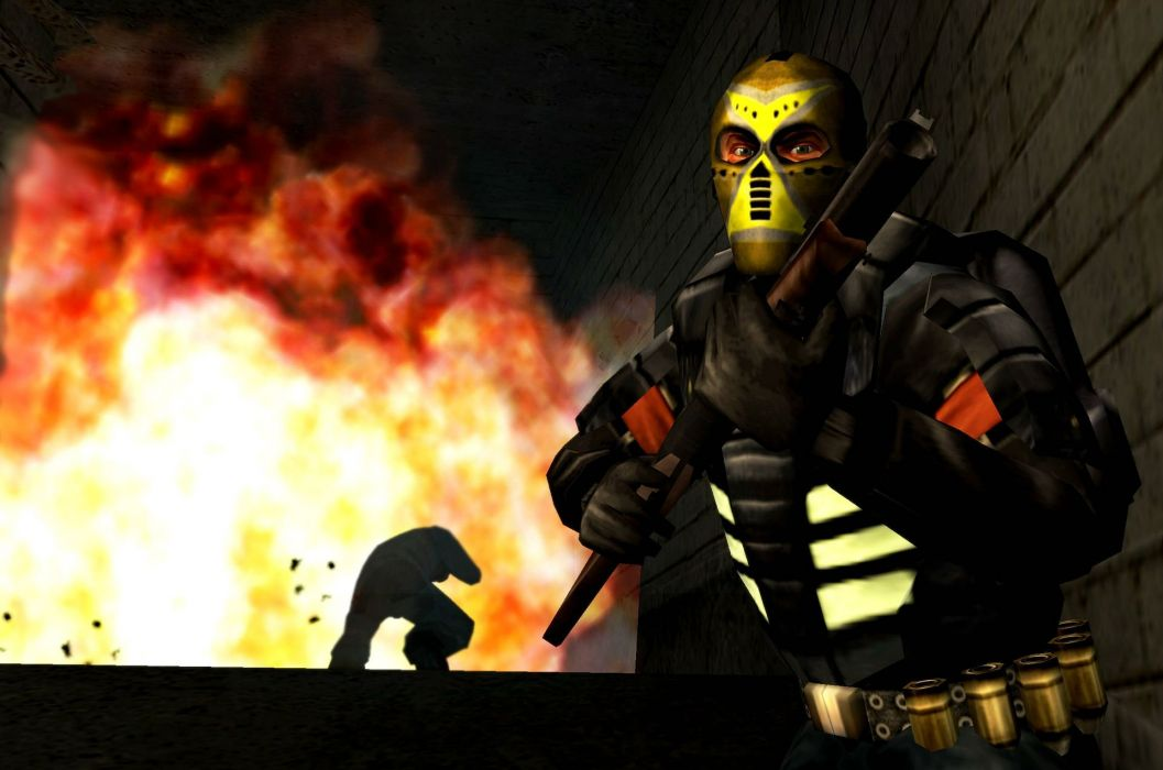 URBAN CHAOS action adventure fighting police anarchy sci-fi 1urbanc sandbox crime wallpaper