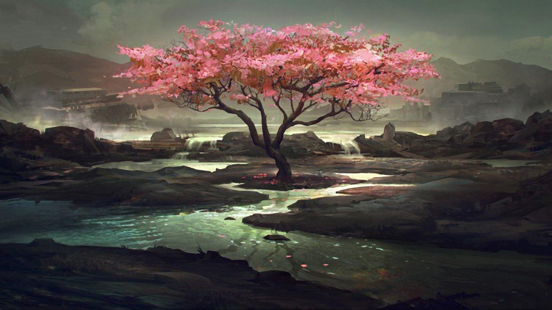 Fantasy Ultra HD Wallpaper Dark Fantasy Tree Projects to Try