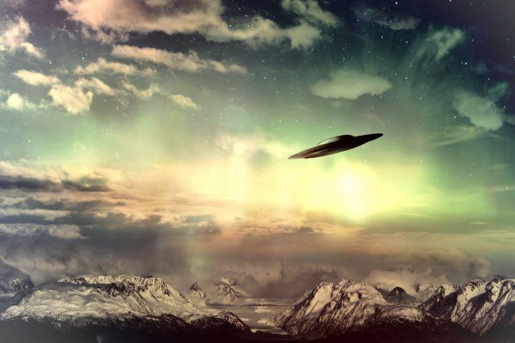 ufo spaceship sci-fi art artwork ship wallpaper
