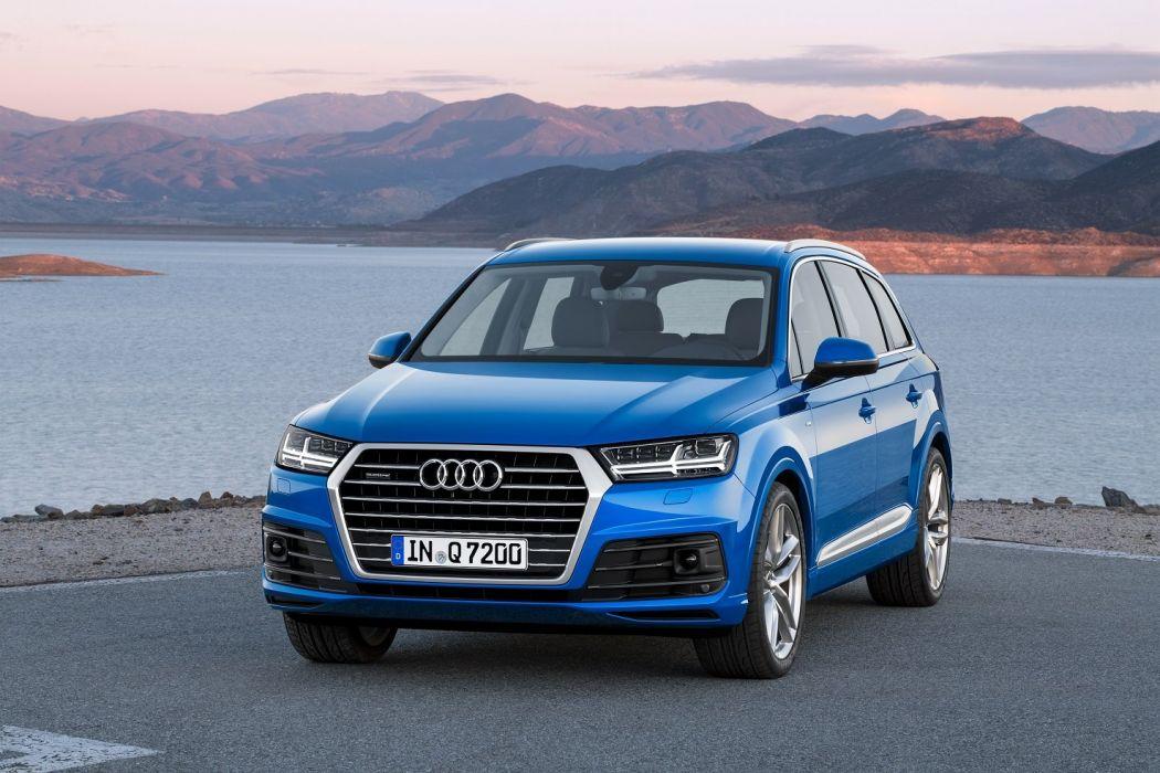 Audi-Q7 TFSI quattro S-line cars suv 2015 wallpaper