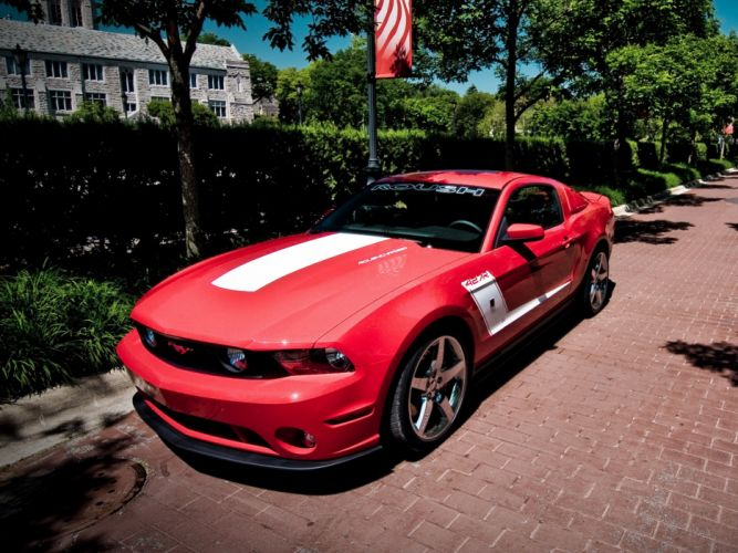 Roush 427R 2010 ford mustang modified cars wallpaper