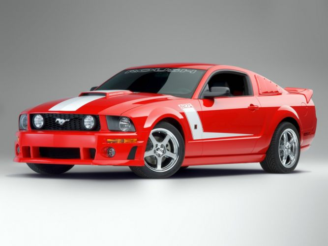 Roush 427R 2007 ford mustang modified cars wallpaper