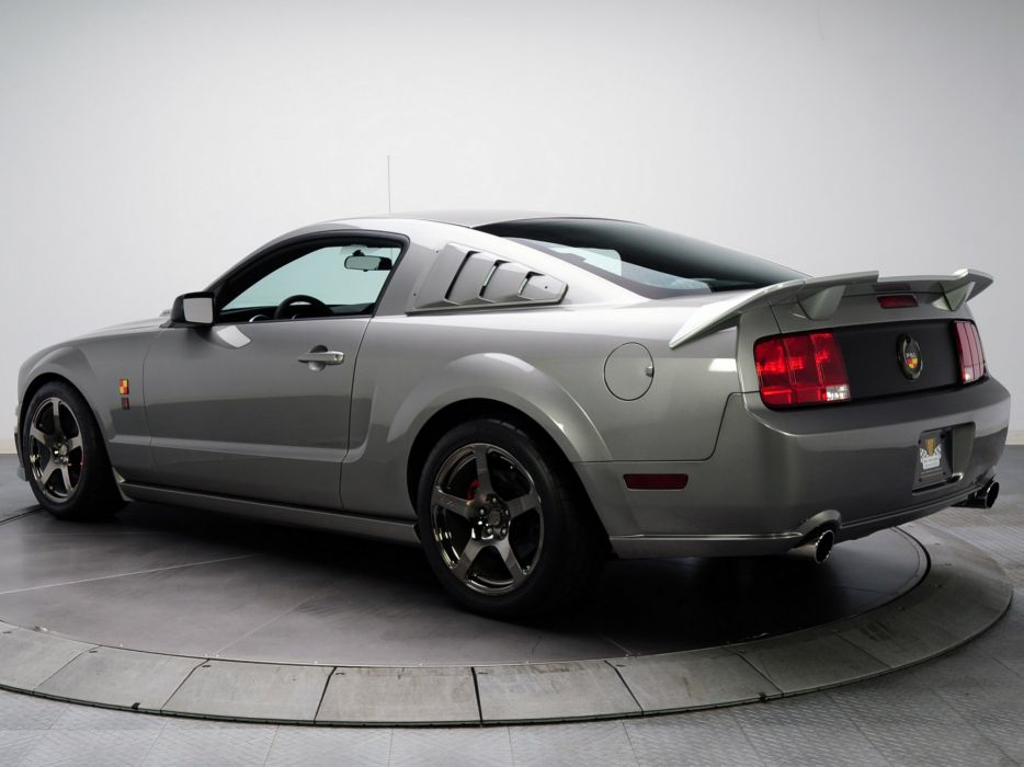 Roush P-51B 2009 ford mustang modified cars wallpaper