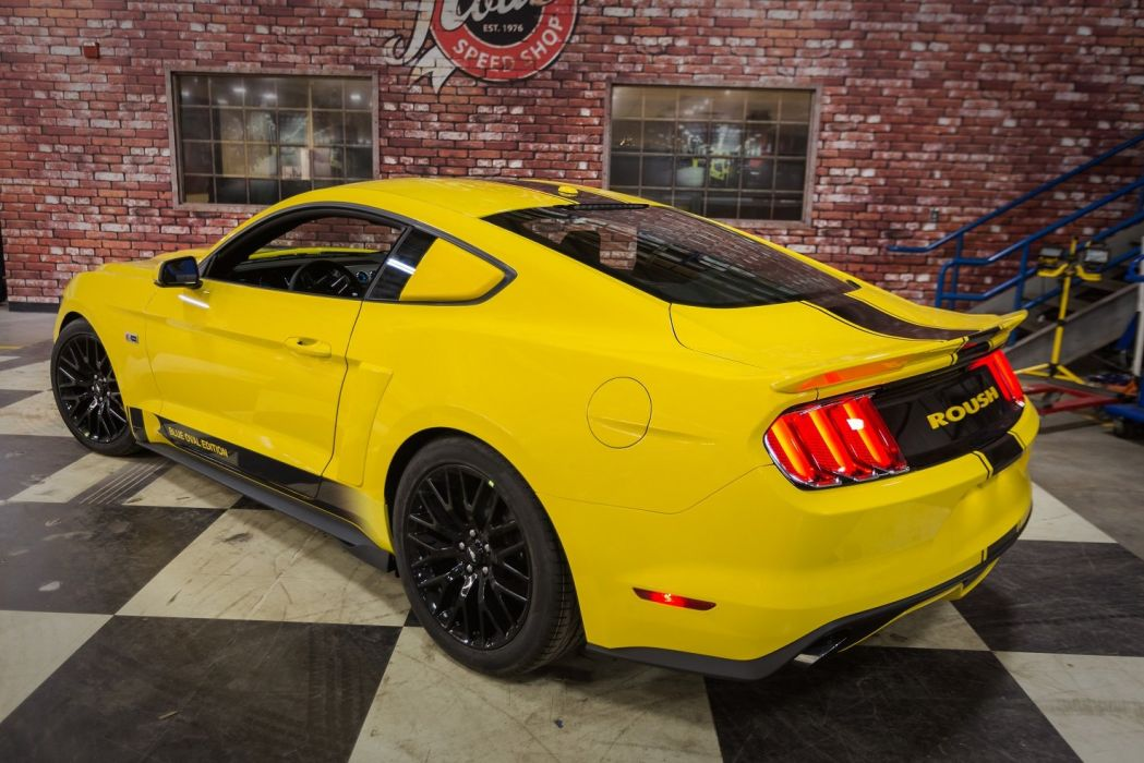 2015 Roush R2300 Blue Oval Edition ford mustang modified wallpaper
