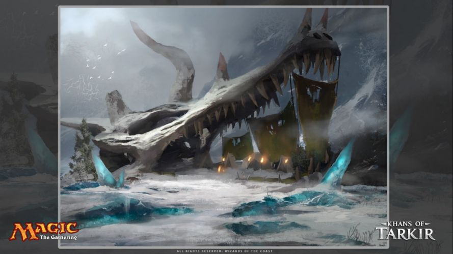 MAGIC GATHERING fantasy artwork art adventure action fighting trading card wallpaper