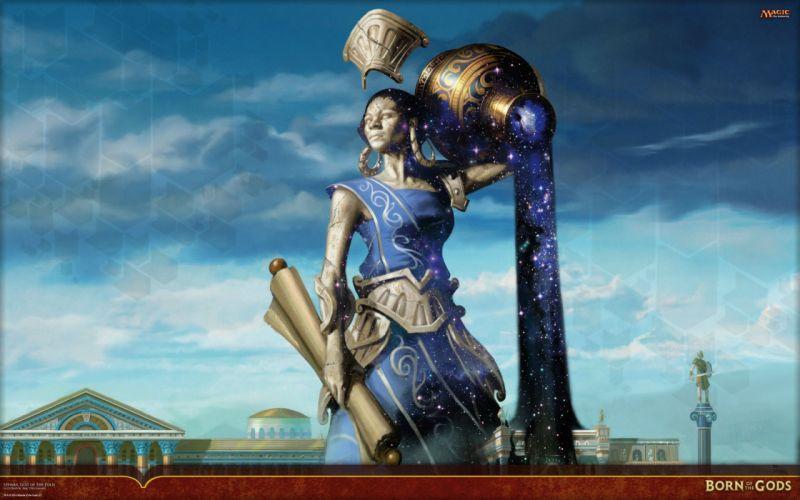 MAGIC GATHERING fantasy artwork art adventure action fighting trading card wallpaper