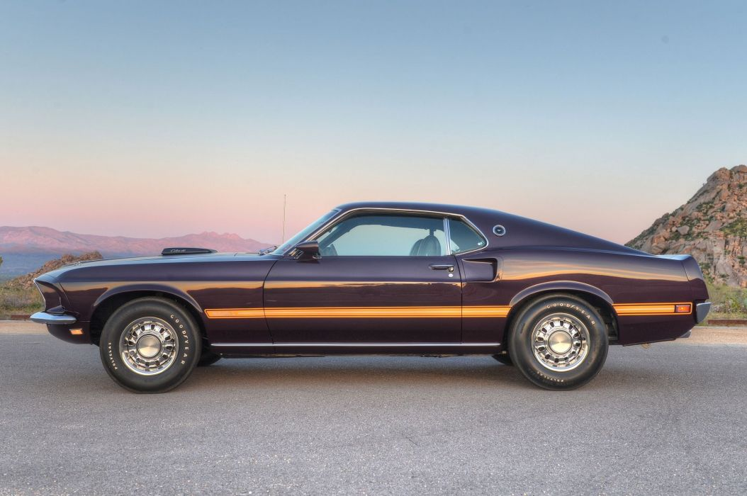 1969 Ford Mustang Mach-1 Muscle Classic Old Original USA 2048x1360-03 wallpaper