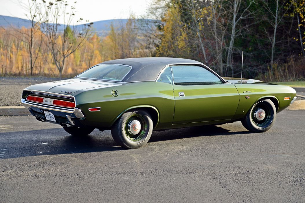 1970 Dodge Challenger RT Muscle Classic Old Original USA 6000x3985-04 wallpaper