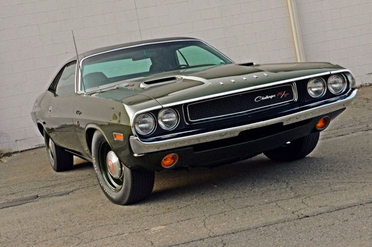 1970 Dodge Challenger RT Muscle Classic Old Original USA 6000x3985-02 wallpaper