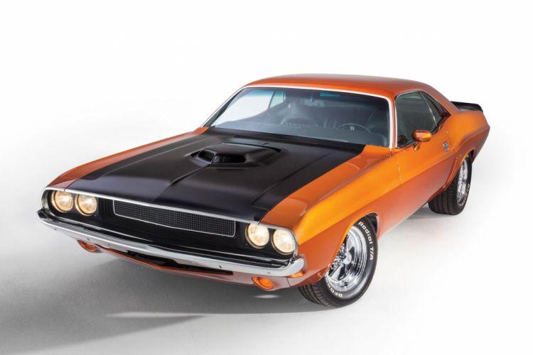 1970 Dodge Challenger Streetrod Street Rod Rodder Muscle USA 2040x1360-03 wallpaper