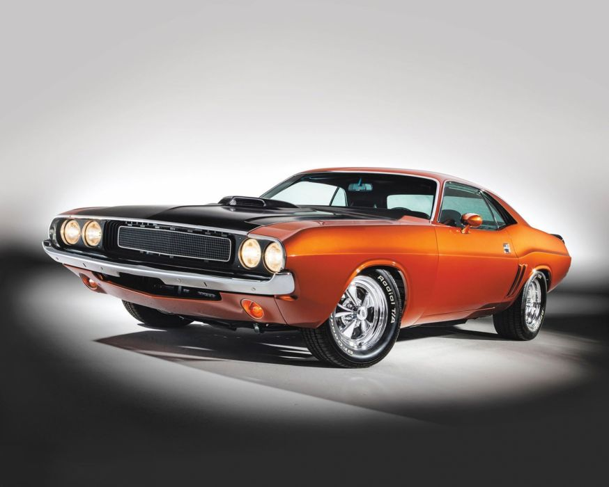 1970 Dodge Challenger Streetrod Street Rod Rodder Muscle USA 2040x1635-01 wallpaper
