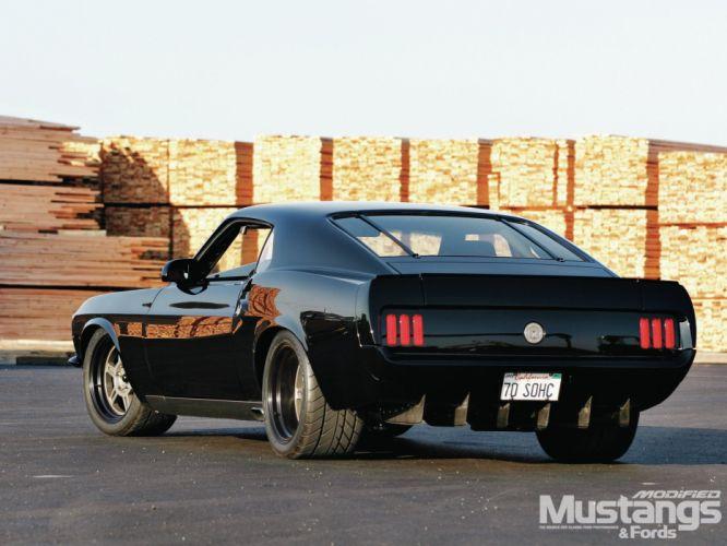 1970 Ford Mustang Sportsroof Streetrod Street Rod Rodder USA 1600x1200-05 wallpaper