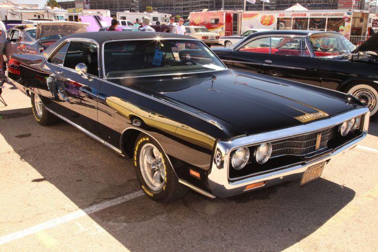 1971 Chrysler New Yorker Custom Streetrod Street Rod Black USA 3072x2048-01 wallpaper