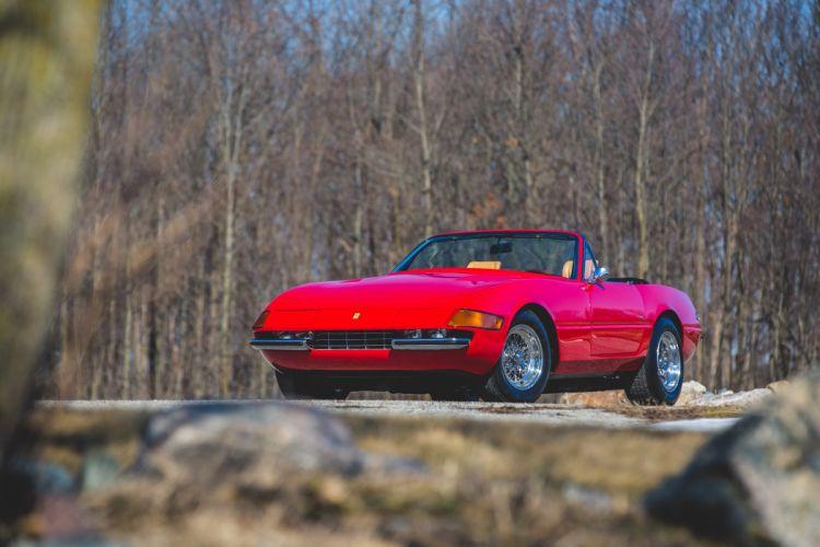 1972 Ferrari 365 GTB-4 Spider Conversion Classic Old Original Italy 6000x4000-02 wallpaper