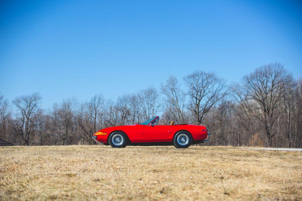 1972 Ferrari 365 GTB-4 Spider Conversion Classic Old Original Italy 6000x4000-03 wallpaper