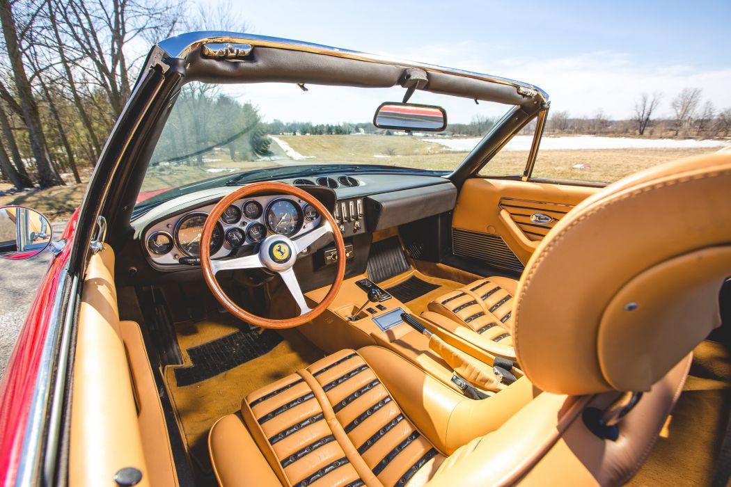 1972 Ferrari 365 GTB-4 Spider Conversion Classic Old Original Italy 6000x4000-08 wallpaper