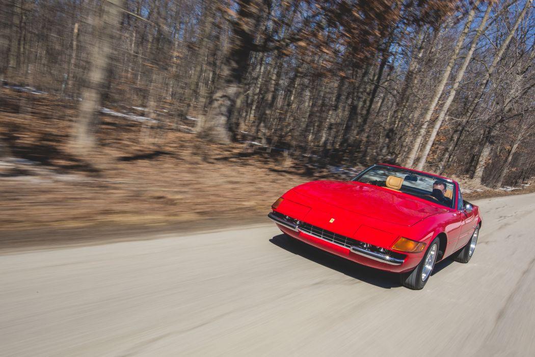 1972 Ferrari 365 GTB-4 Spider Conversion Classic Old Original Italy 6000x4000-11 wallpaper