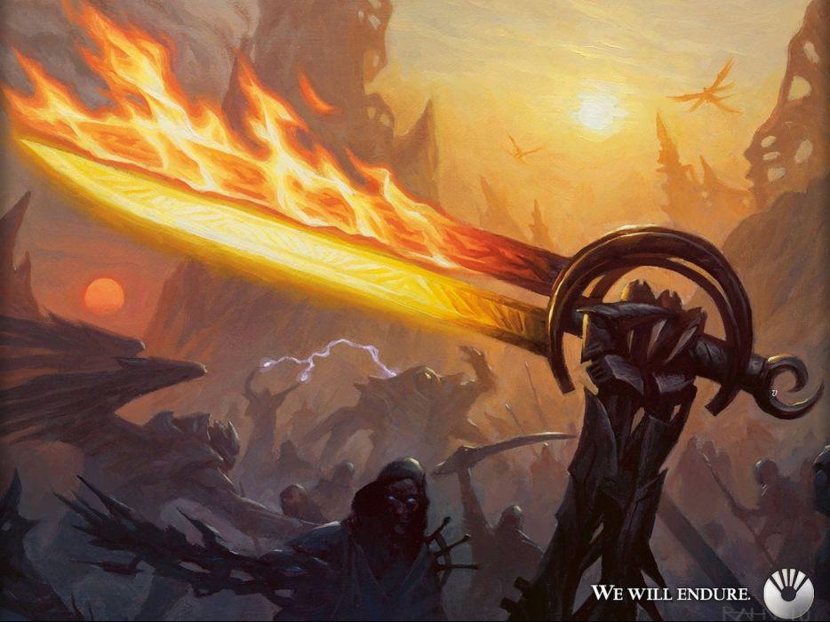 MAGIC GATHERING fantasy artwork art action adventure fighting board card trading wallpaper
