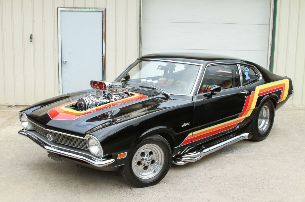 1972 Ford Maverick 302 Pro Street Drag Muscle USA-5184x3442-04 wallpaper