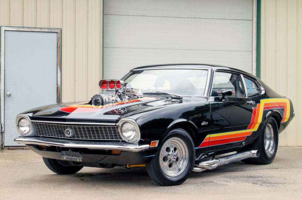 1972 Ford Maverick 302 Pro Street Drag Muscle USA-5184x3442-03 wallpaper