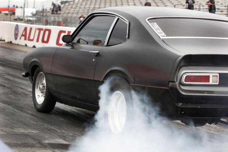 1973 Ford Maverick Burnout Drag Dragster Race Racing Burnout USA 2040x1360-01 wallpaper