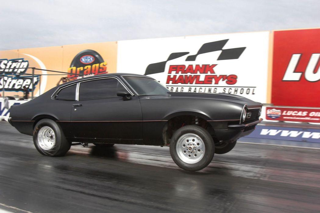 1973 Ford Maverick Burnout Drag Dragster Race Racing USA 2040x1360-02 wallpaper