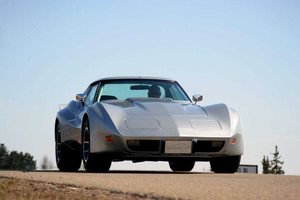 1976 Chevrolet Corvette Greenwood GT C3 Muscle Street Super Hot USA 3200x2143-06 wallpaper
