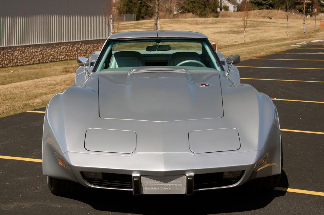 1976 Chevrolet Corvette Greenwood GT C3 Muscle Street Super Hot USA 3200x2143-05 wallpaper